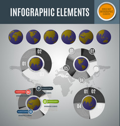 infographic element set9 vector image