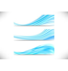 Liquid abstract backgrounds collection vector image