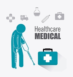 Medical healthcare design vector