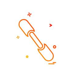 rod icon design vector image