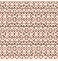 seamless color pattern with triangles vector image