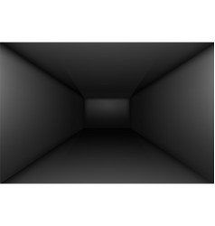 black empty room interior for design vector image vector image