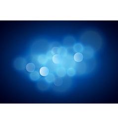 Blue Blurred Background vector image vector image