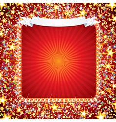 bright celebration background vector image vector image