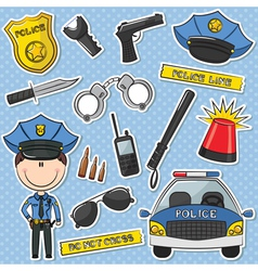 Police Officer vector image