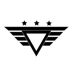 Army forces emblem design vector