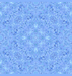 blue abstract seamless curved triangle mosaic vector image