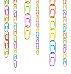 Color clips vector image