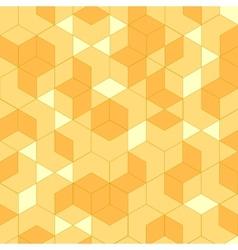 Isometric geometric vector image