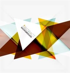 Minimalistic geometric background vector