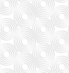 Paper white merging rolling spools vector