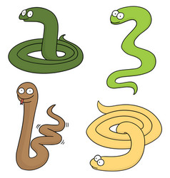 Set of snake vector