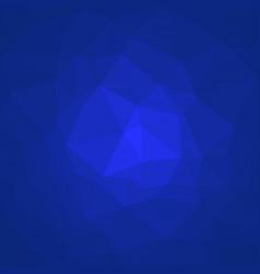smooth polygonal background dark blue and indigo vector image