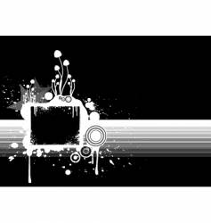 splatter element vector image