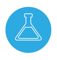 test tube laboratory vector image