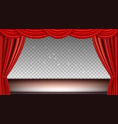 theater stage festive background audience movie vector image