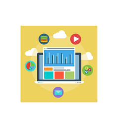 Web analytics design and optimize the results vector