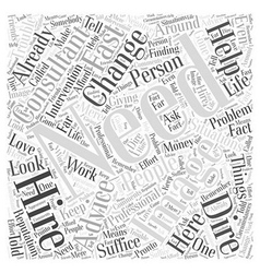 Do you need an image consultant Word Cloud Concept vector image vector image