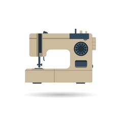 Sewing machine isolated vector image vector image