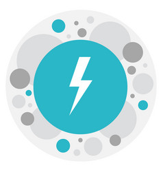 of climate symbol on flash vector image