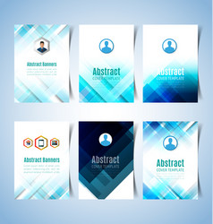 Abstract report cover2 vector