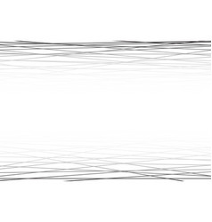 Black and white abstract horizontal striped vector