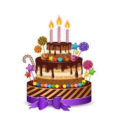 cake2 vector image