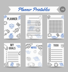 Delivery and express shipment planner courier and vector