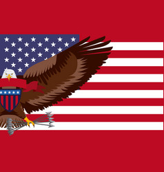 Independence day america vector