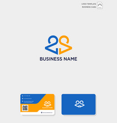 Initial ca or ac creative logo template vector