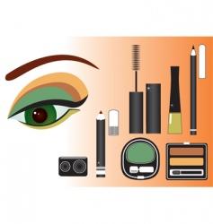 Make up eye vector