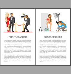Model in swimsuit at backdrop celebrities couple vector