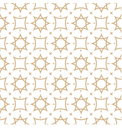Seamless geometric pattern in arabian style vector
