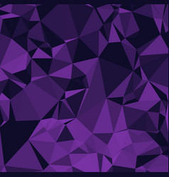 shiny polygonal background in eggplant purple and vector image