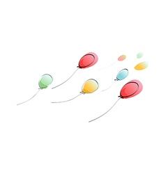 The balloons vector
