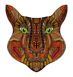 Tiger head image vector image
