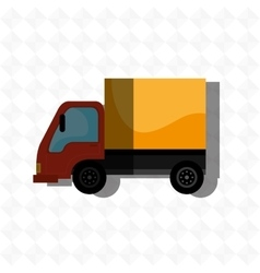vehicle icon design vector image