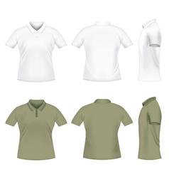 men polo tshirts vector image vector image