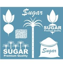 Sugar Icon vector image vector image