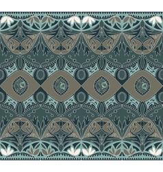 Seamless Flower Vintage Pattern vector image vector image