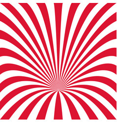 curved ray burst background - from curved stripes vector image