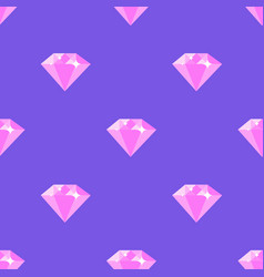 diamond pattern on purple background vector image