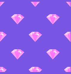 diamond pattern on purple background vector image