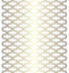 gold openwork pattern vector image