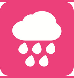 Heavy rain vector
