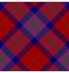 Pride of scotland autumn tartan seamless diagonal vector image