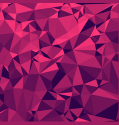 shiny polygonal background in strawberry margrita vector image