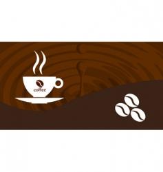 splash coffee vector image