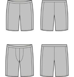 Sport shorts vector