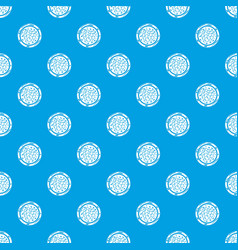 sushi caviar pattern seamless blue vector image